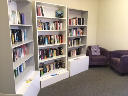 Bookswap in new room