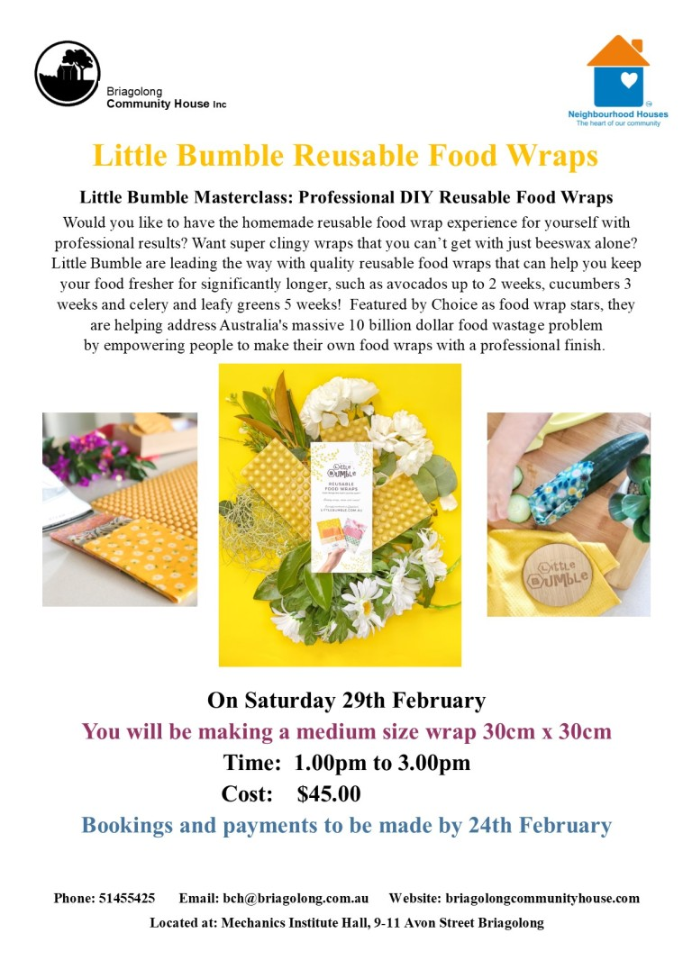 little bumble food wraps flyer t1 2020